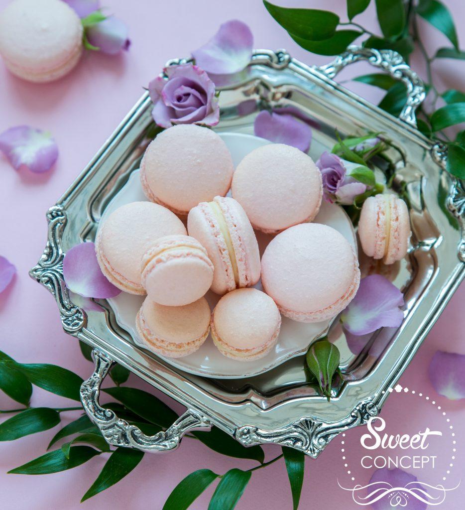 macarons sampanie